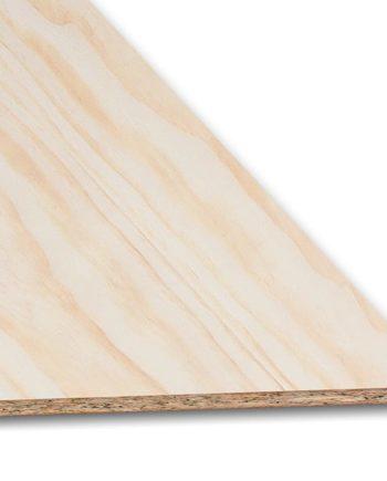 tablero aglomerado rechapado pino
